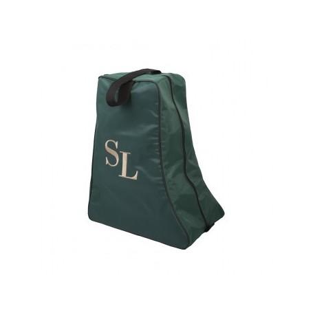 sac à bottes vert bouteille