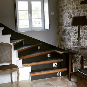 Stickers pour escalier