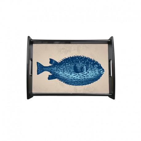 Plateau poisson Tétrodon