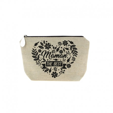 Trousse Maman the Best noir