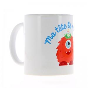 Mug Ma tête le matin