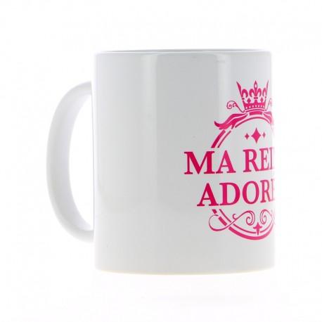 Mug Ma reine adorée