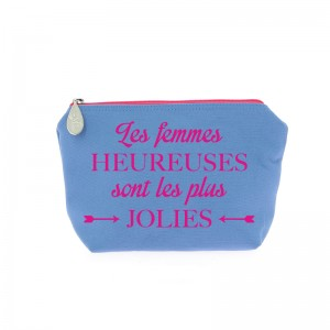 Trousse Meg bicolore Message