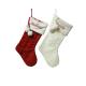 Chaussette de Noël tricotée