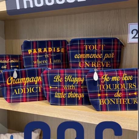 Trousse Meg écossaise