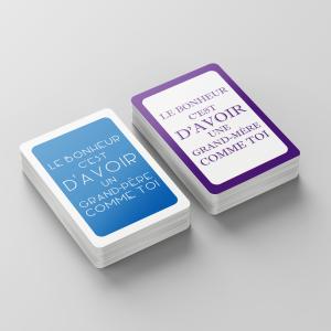 Jeu de cartes pour Grands-Parents