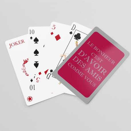 Jeu de cartes Amis